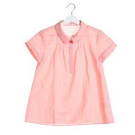 ニューヨーカー NEWYORKER 鹿の子 ジャージータックシャツ (オレンジ)