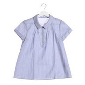 ニューヨーカー NEWYORKER 鹿の子 ジャージータックシャツ (ブルー)