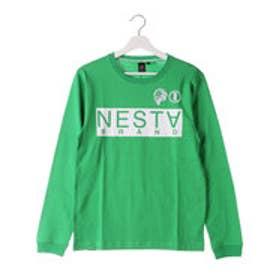 ネスタブランド Nesta Brand ベーシックロンTee (グリ-ン)