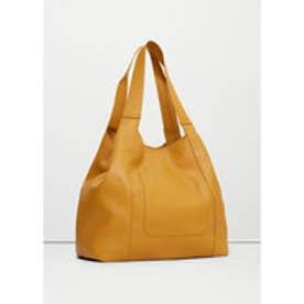 マンゴ MANGO Pocket hobo bag (medium yellow)