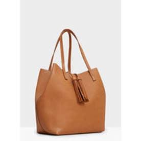 マンゴ MANGO Shopper bag (medium brown)