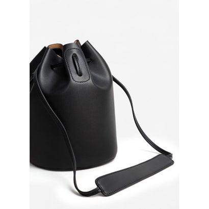 巾着バッグ M MINIMAL8 (ブラック)