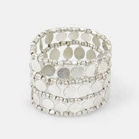 マンゴ MANGO Elastic bracelet (lt pastel grey)