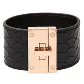 マンゴ MANGO Rigid bracelet (black)