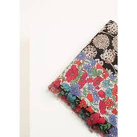 マンゴ MANGO Floral print scarf (red)