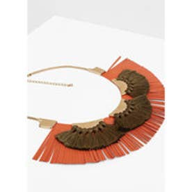 マンゴ MANGO Tassel necklace (gold)