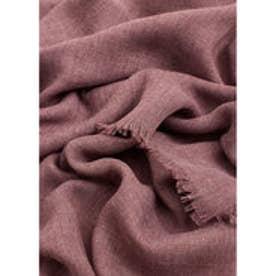 マンゴ MANGO Frayed edge scarf (lt-pastel purple)