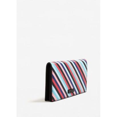 二つ折り財布 M-- GEO (パステルピンク)
