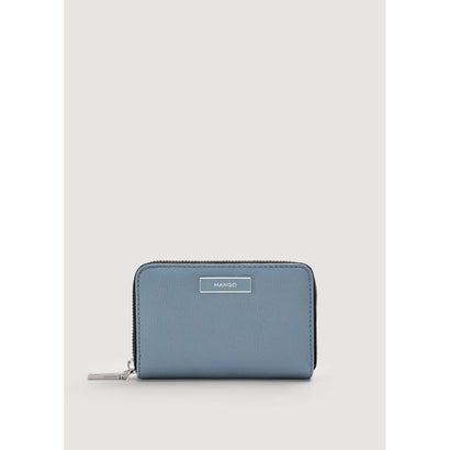 二つ折り財布 M-- BADU (ミディアムブルー)