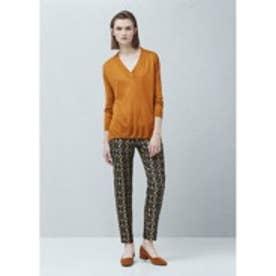 マンゴ MANGO V-neck sweater (medium yellow)