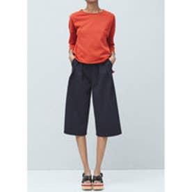 マンゴ MANGO Cotton sweatshirt (medium orange)