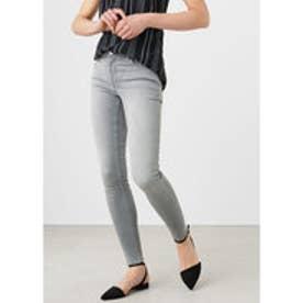 マンゴ MANGO Skinny Elektra jeans (open grey)