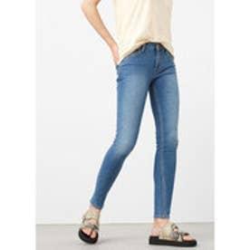 マンゴ MANGO Skinny Olivia jeans (open blue)