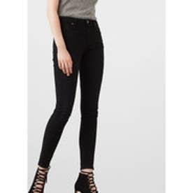 マンゴ MANGO Skinny Olivia jeans (open grey)