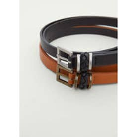 マンゴ MANGO Skinny belt pack (black)