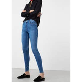 マンゴ MANGO Super slim-fit Andrea jeans (open blue)