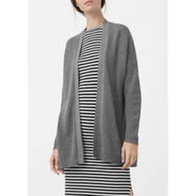 マンゴ MANGO Textured cardigan (medium grey)