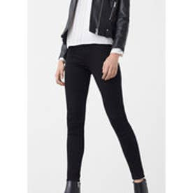 マンゴ MANGO Kim skinny push-up jeans (open grey)
