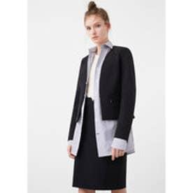 マンゴ MANGO Structured jacket (black)