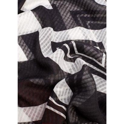 スカーフ . LINE8 (ブラック)