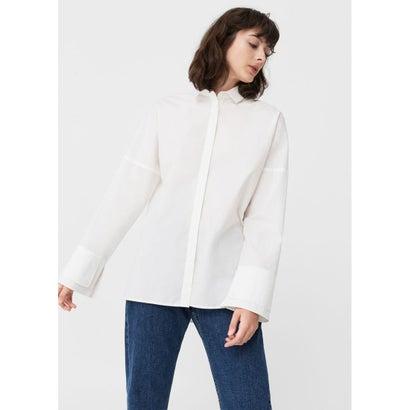 シャツ . TEXT2 (ホワイト)