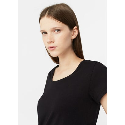 T-シャツ . CHALA (ブラック)