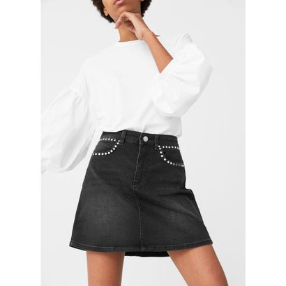 スカート ブラック (デニムブラック)