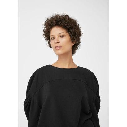 スウェットトップス Organic cotton sweatshirt (ブラック)
