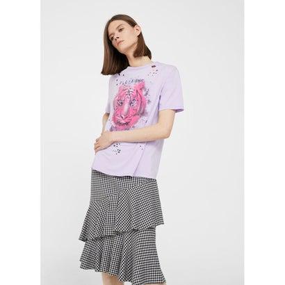 Tシャツ .-- ROTOS (パステルパープル)