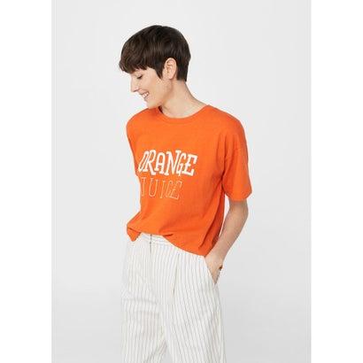 Tシャツ .-- RUSTICA (ブライトオレンジ)