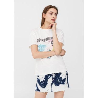 Tシャツ .-- BEACH (ホワイト)