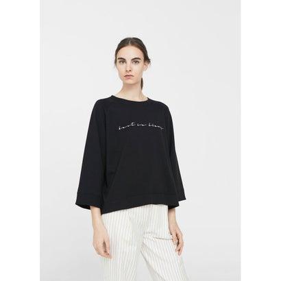 スウェットシャツ .-- COMBI (ブラック)