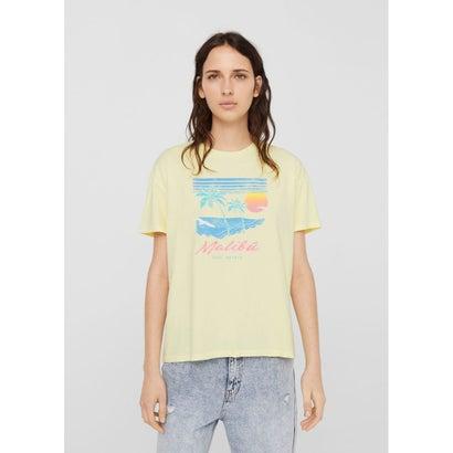 Tシャツ .-- BEACH (イエロー)