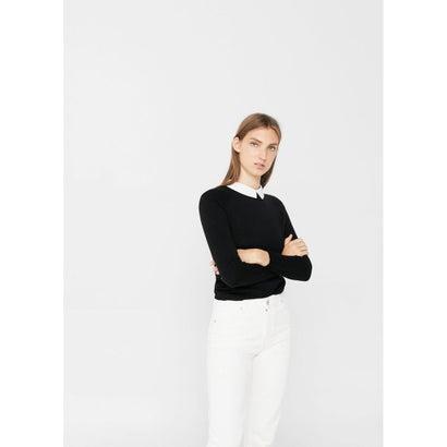 セーター .-- ACACIA-S (ブラック)