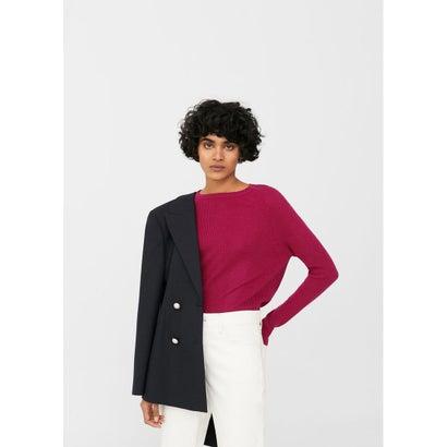 セーター .-- CROSS (ブライトピンク)