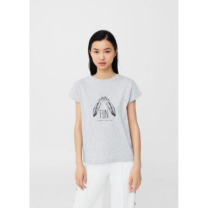 Tシャツ .-- ILUSTRA2 (グレー)