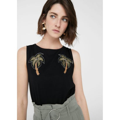 Tシャツ .-- PIRI (ブラック)