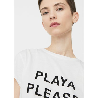 Tシャツ .-- ILUSTRA2 (ホワイト)