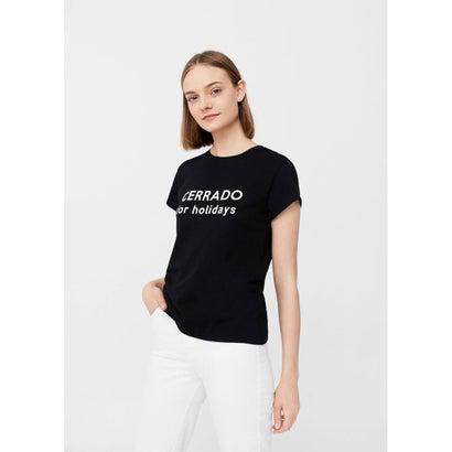 Tシャツ .-- ILUSTRA2 (ブラック)
