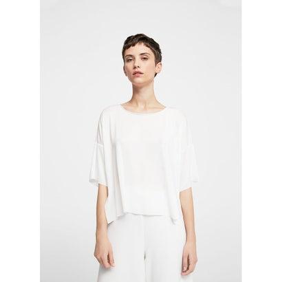 Tシャツ .-- ROSE (ナチュラルホワイト)