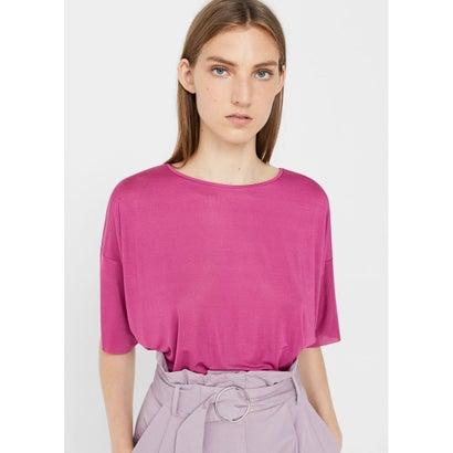 Tシャツ .-- ROSE (ブライトピンク)