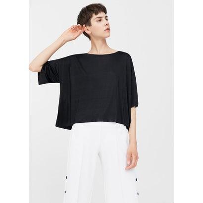Tシャツ .-- ROSE (ブラック)