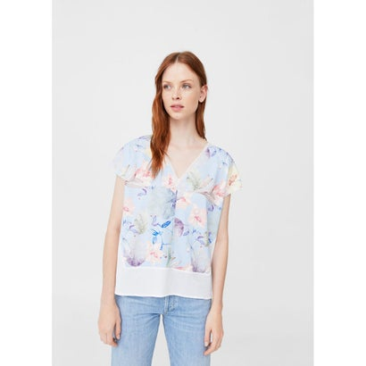 Tシャツ .-- POSITION (ミディアムブルー)