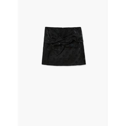 スカート .-- BOW (ブラック)