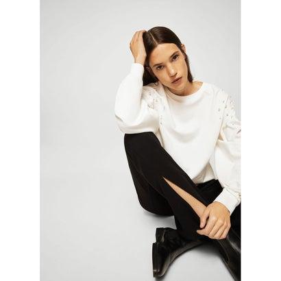 スウェットシャツ .-- SILVIA (ホワイト)