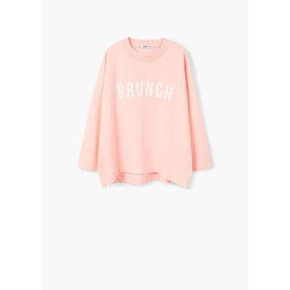スウェットシャツ .-- LOW (ピンク)