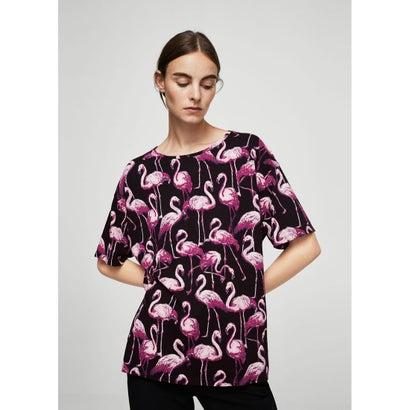 Tシャツ .-- FRUITS (ピンク)