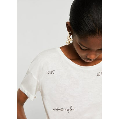 Tシャツ .-- SCRIPT (ホワイト)
