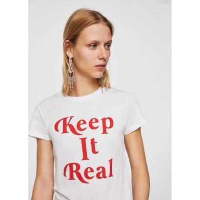 Tシャツ .-- KEEP (ホワイト)