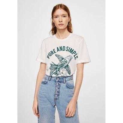 Tシャツ .-- ASIAN (グリーン)